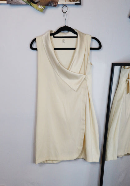 Tala Cream SIlk Dress