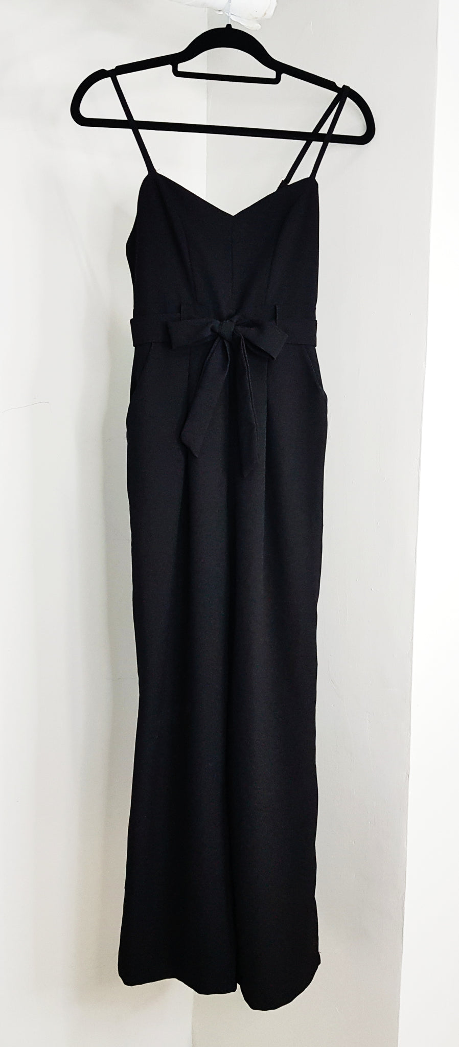 The Editor's Market black cami jumpsuit