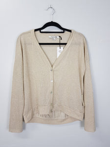 Forever 21 brown glittered sweater