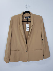 Forever 21 brown long sleeve jacket