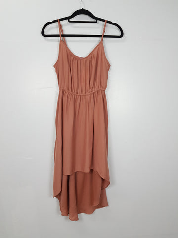 Cotton On brown spaghetti strap dress