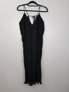 NA black one piece jumpsuit