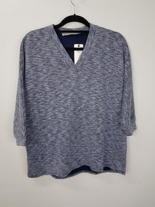 Harlan+Holden grey vneck sweater