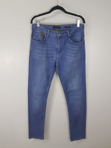 Zara blue denim