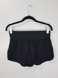 Something Borrowed black shorts with pleats