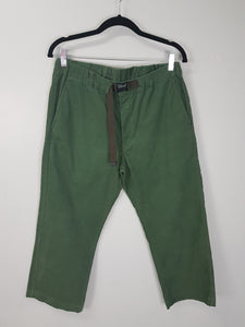 Uniqlo green curdoroy pants