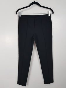 Calvin klein black with zipper on the side pants