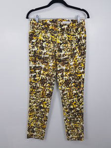 I.T.S. International Yellow Pants with camouflage design