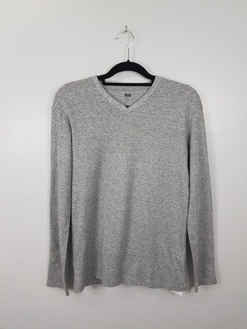 Uniqlo Grey Longsleeves Shirt