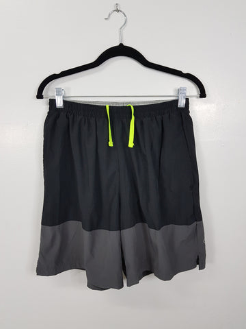 Champion Black and Grey Athletic Shorts