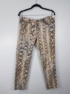 Zara animal print pants