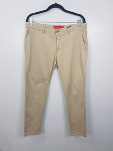 Zara brown straight pants