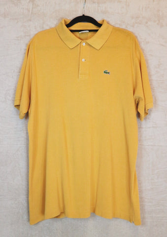 Lacoste Yellow Polo Tee