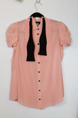 Moschino Pink Button-down Blouse