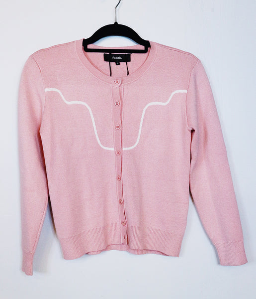Pomelo pink sweater