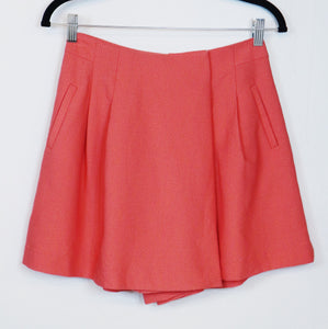 Clear Impression Red Skort