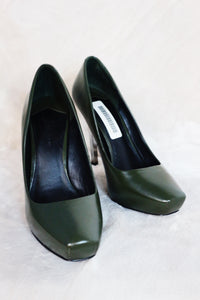 Stella Luna Forest Green Pumps