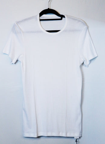 UniQlo white 3 pack rib crew neck for men tshirt