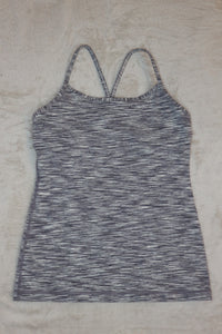 Lululemon Grey racerback Athletic Top