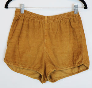 Corduroy brown shorts