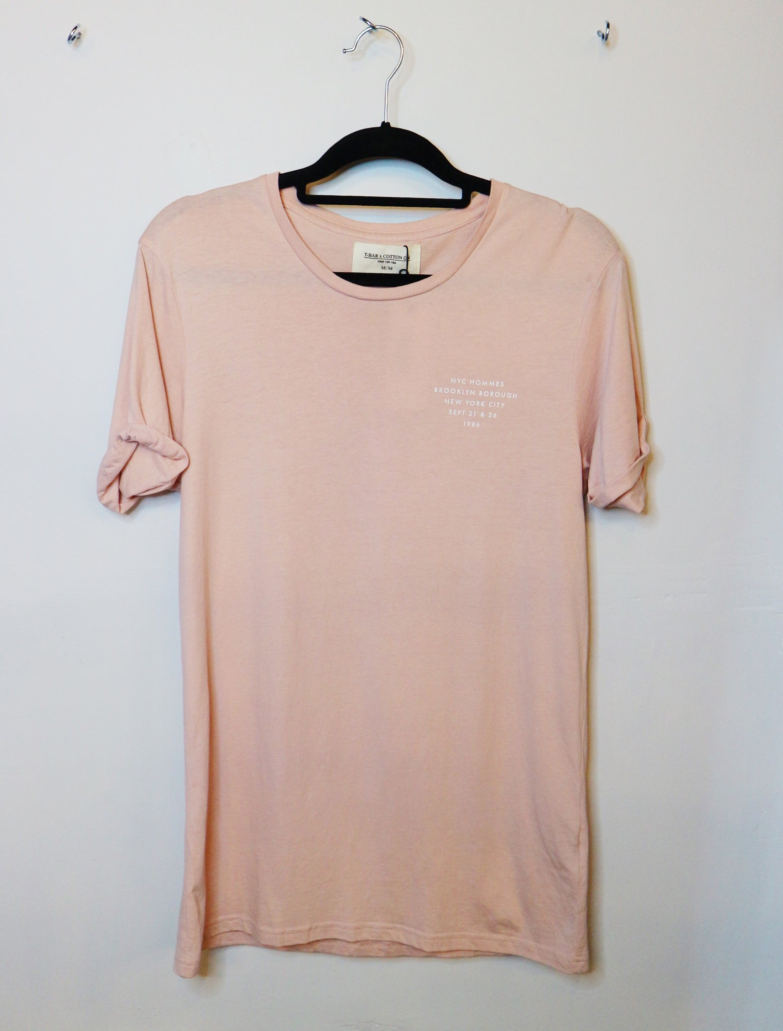 T-Bar pink long tshirt