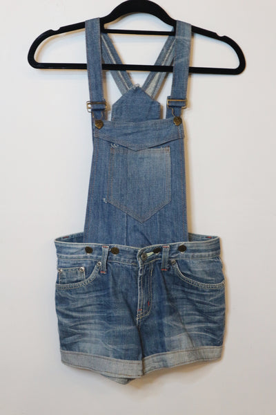 Roots Jeans denim blue jumper shorts