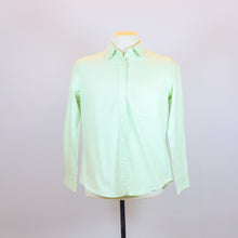 Uniqlo Green Long Sleeve Polo with Front Pocket