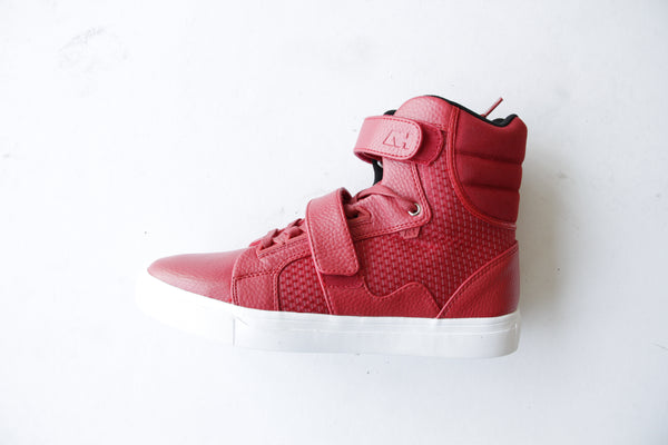 Android Homme Red Sneakers