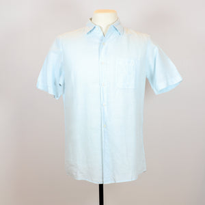 Uniqlo Blue Short Sleeve Polo with Front Pocket