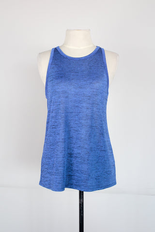 Eight Sixty Heathered Blue Tank
