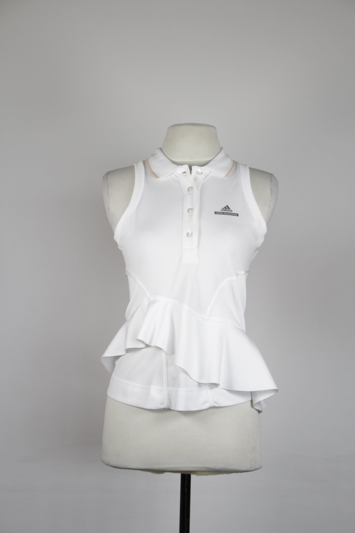 Adidas Stella McCartney White Sleeveless Top