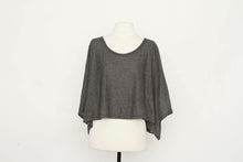 Brandy Meyville Dark Grey Oversized Tee