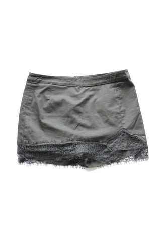 iROO Black Skort with Lace Edging