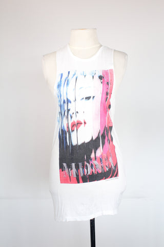 Madonna Extra Long Muscle Shirt