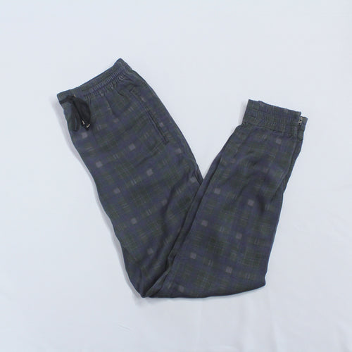 H&M Checkered Joggers