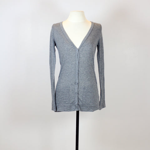 Topshop Grey Cardigan