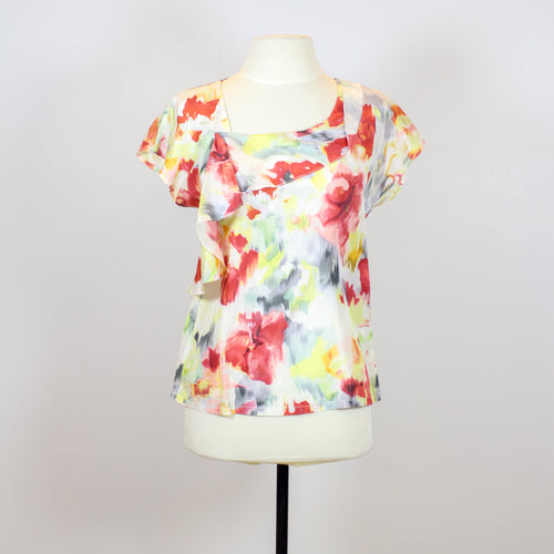Ali Ra Colorful Silk Blouse