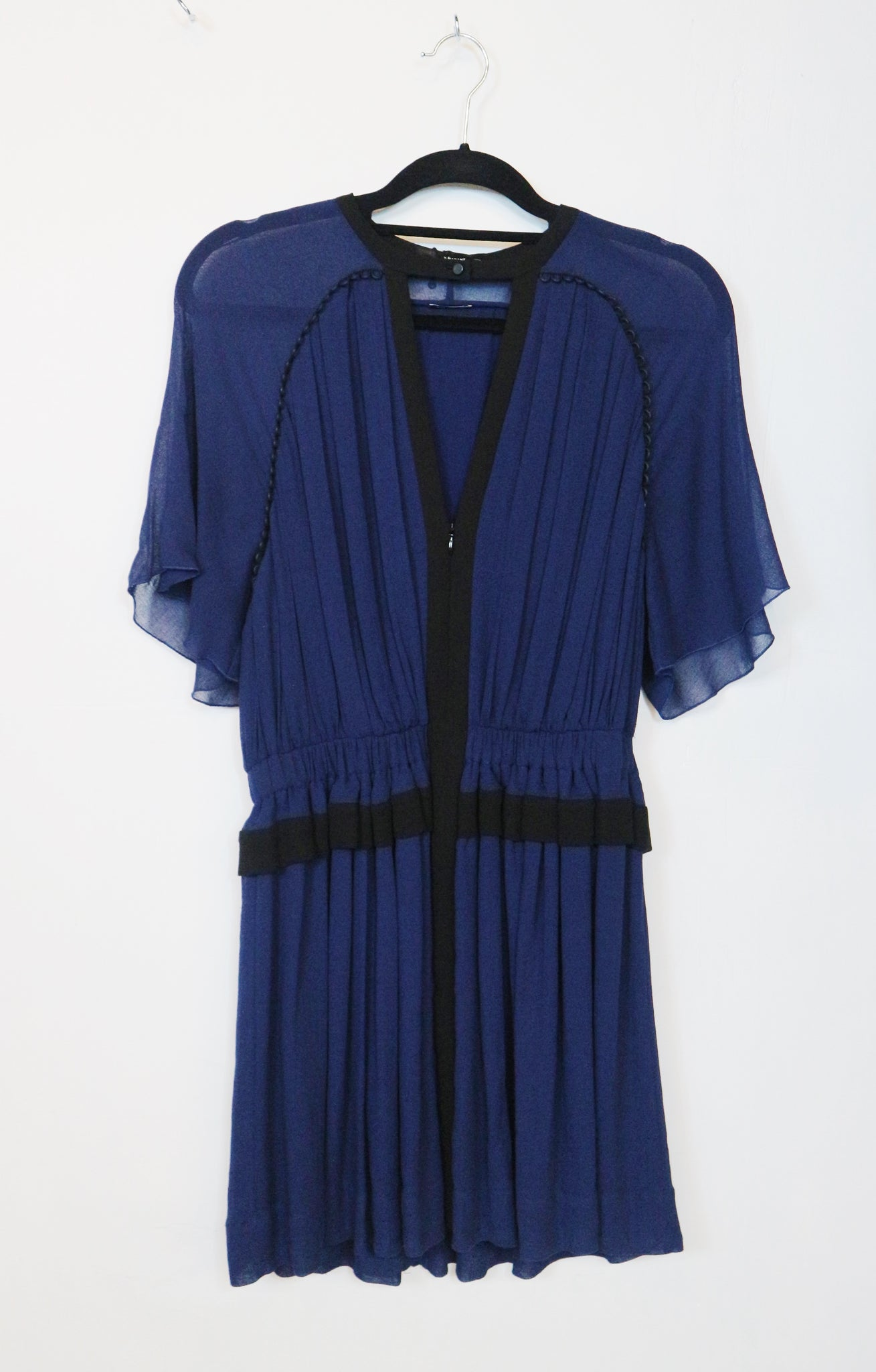 Isabel Marant Blue Sheer Dress