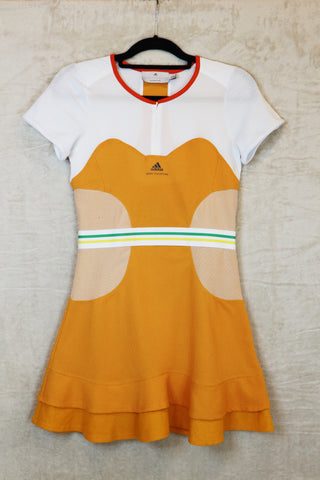 Adidas Stella McCartney Orange Tennis Dress