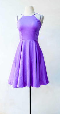Charina Sarte Lavender Fit and Flare Dress