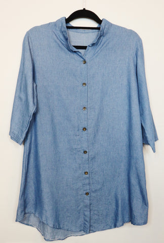 NA blue 3/4 sleeve dress