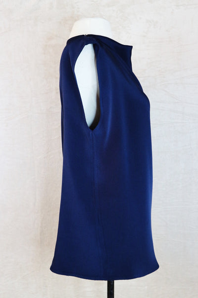 Philip Lim Blue Sleeveless Blouse