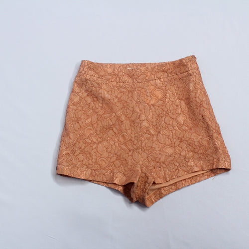 Forever 21 Nude Lace Shorts
