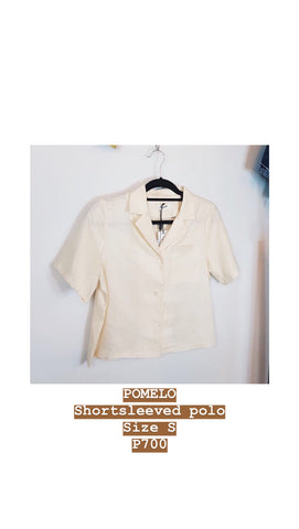 Pomelo cream blouse