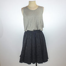 Tougher Grey/Black Combi Pouf Dress