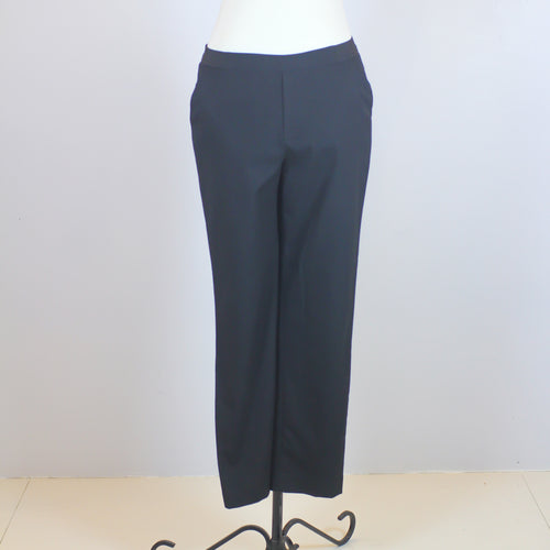 Uniqlo Black Garterized Ankle-Length Trousers with Black Garter