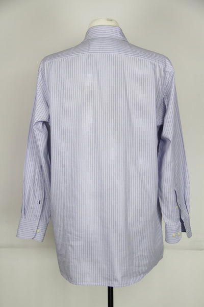 Blue Strip Long Sleeve Button Up