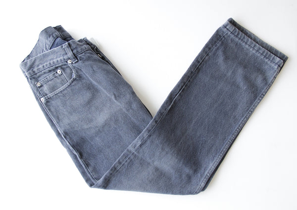 Grey Faded Denim Jeans