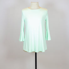 Context Mint Green 3/4 Balloon Sleeve Blouse