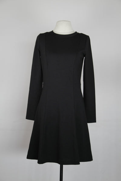 Michael Kors Black Longsleeve A Line Dress